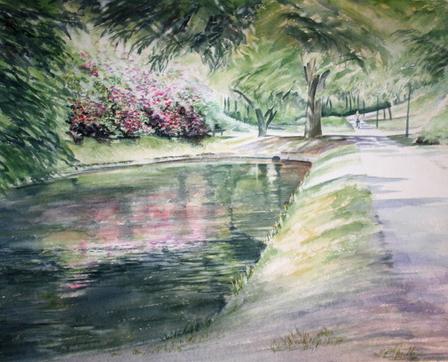 Dammen i parken