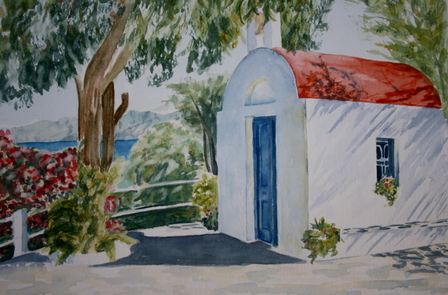 Stavros chapell, Kalymnos