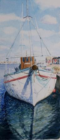 Fiskebåt Wasa Torekov