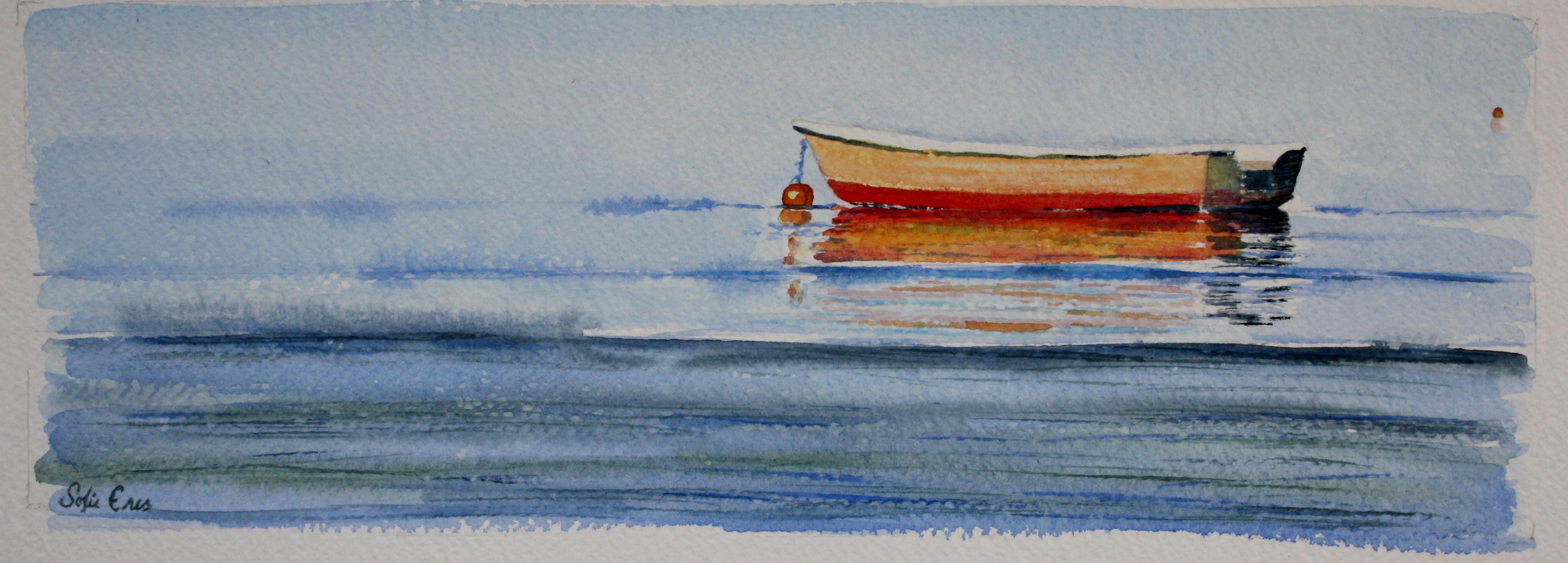 Liten Röd Båt